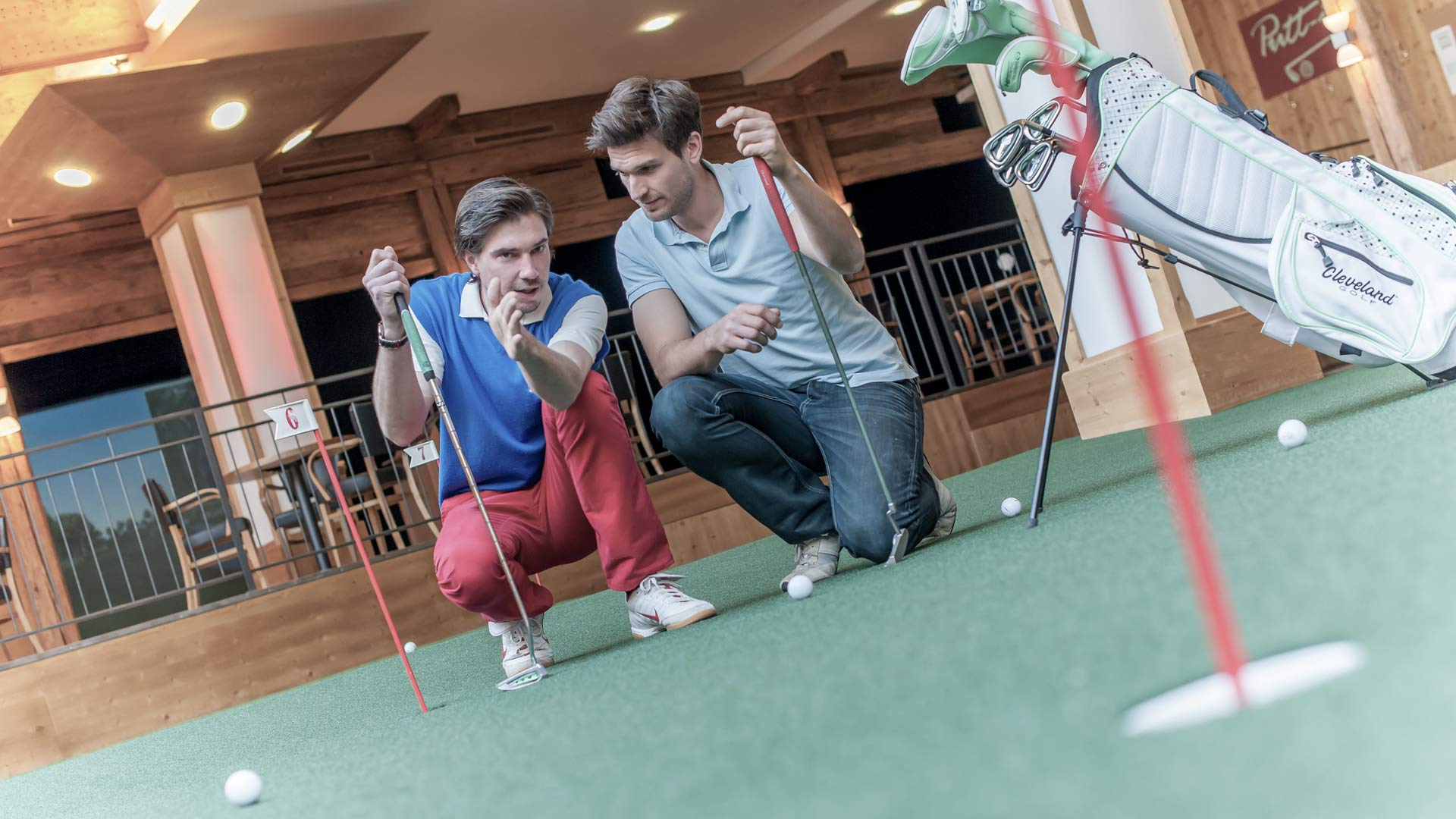 Indoorgolf in Hochgurgl