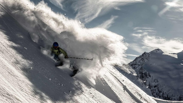 Freeriding in Obergurgl
