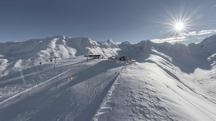 Skiing area Hochgurgl and Obergurgl from 1900m until 3100m above sea level
